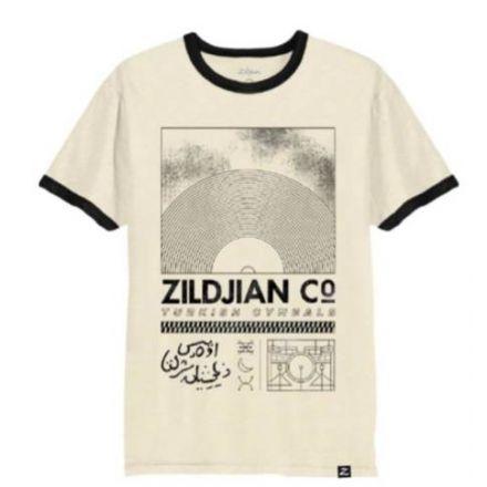 Zildjian Limited Edition Ringer T-Shirt - Natural - Small