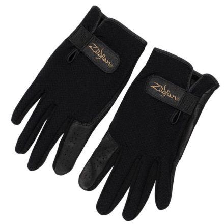 Zildjian Touchscreen Drummer's Gloves - Black - Small