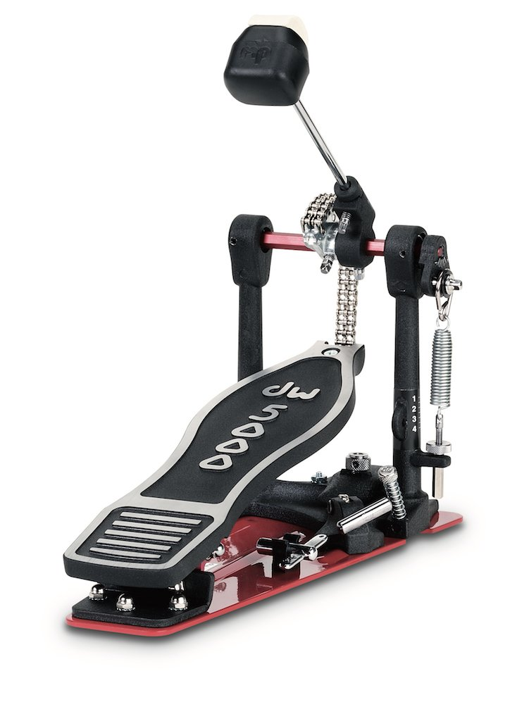 dw 5000 bass drum pedal heel less with bag dwcp5000ads 647139141879 ebay. Black Bedroom Furniture Sets. Home Design Ideas