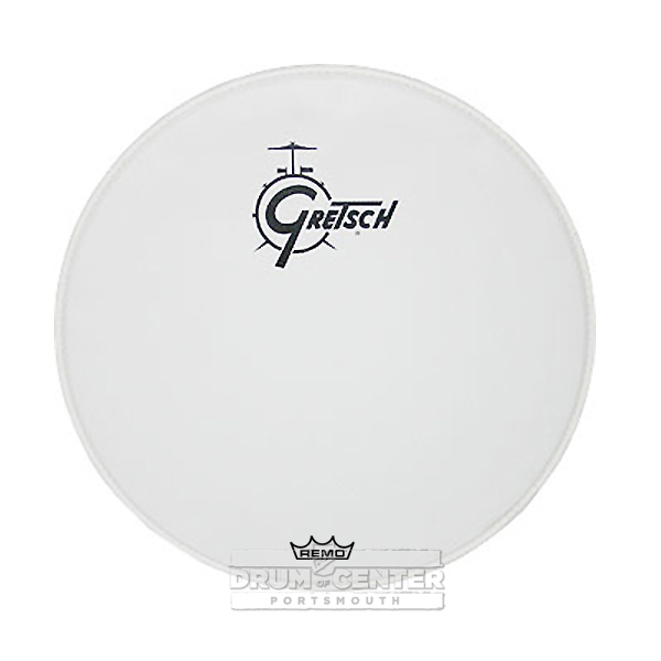 gretsch bass drum head coated 26 with logo grdhcw26 19239184351 ebay. Black Bedroom Furniture Sets. Home Design Ideas