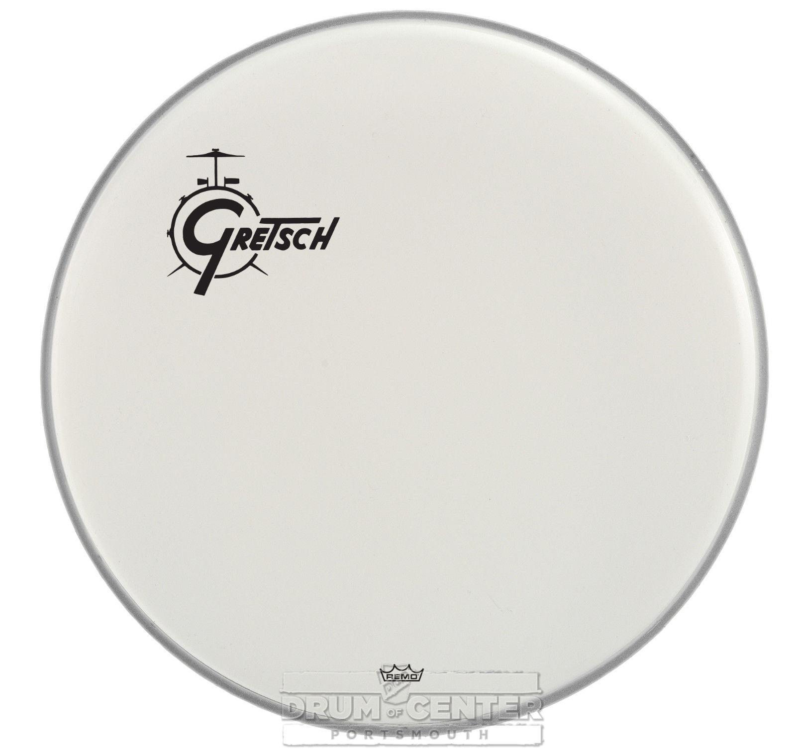 gretsch bass drum head coated 26 with offset logo grdhcw26o 19239184351 ebay. Black Bedroom Furniture Sets. Home Design Ideas