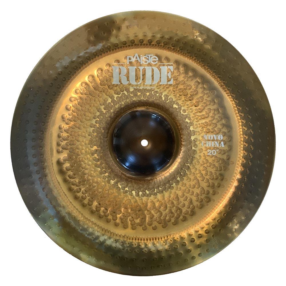 paiste rude novo china cymbal 20 demo model 697643108301 ebay. Black Bedroom Furniture Sets. Home Design Ideas