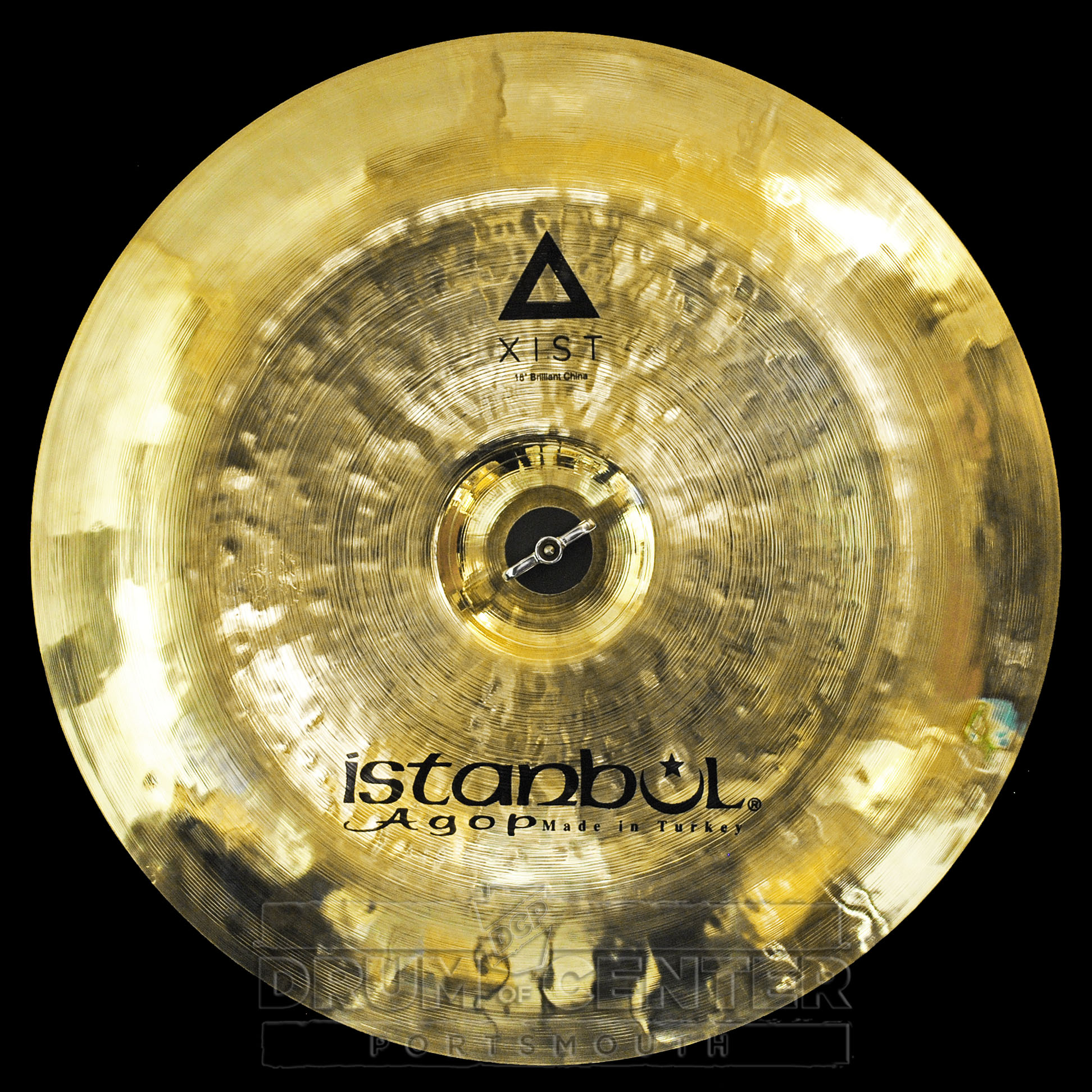 istanbul agop xist brilliant china cymbal 18 video demo ebay. Black Bedroom Furniture Sets. Home Design Ideas