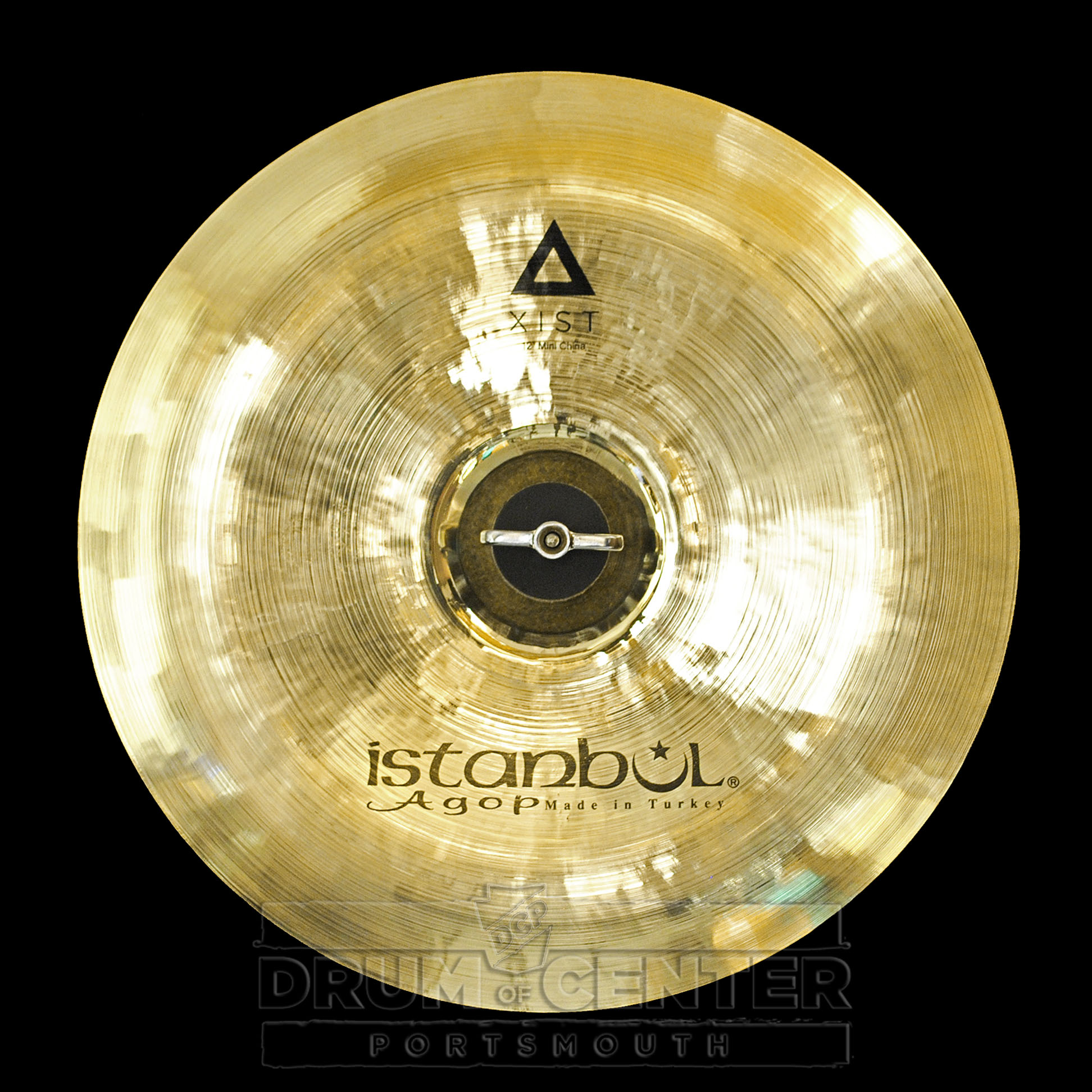 istanbul agop xist brilliant mini china cymbal 12 video demo ebay. Black Bedroom Furniture Sets. Home Design Ideas