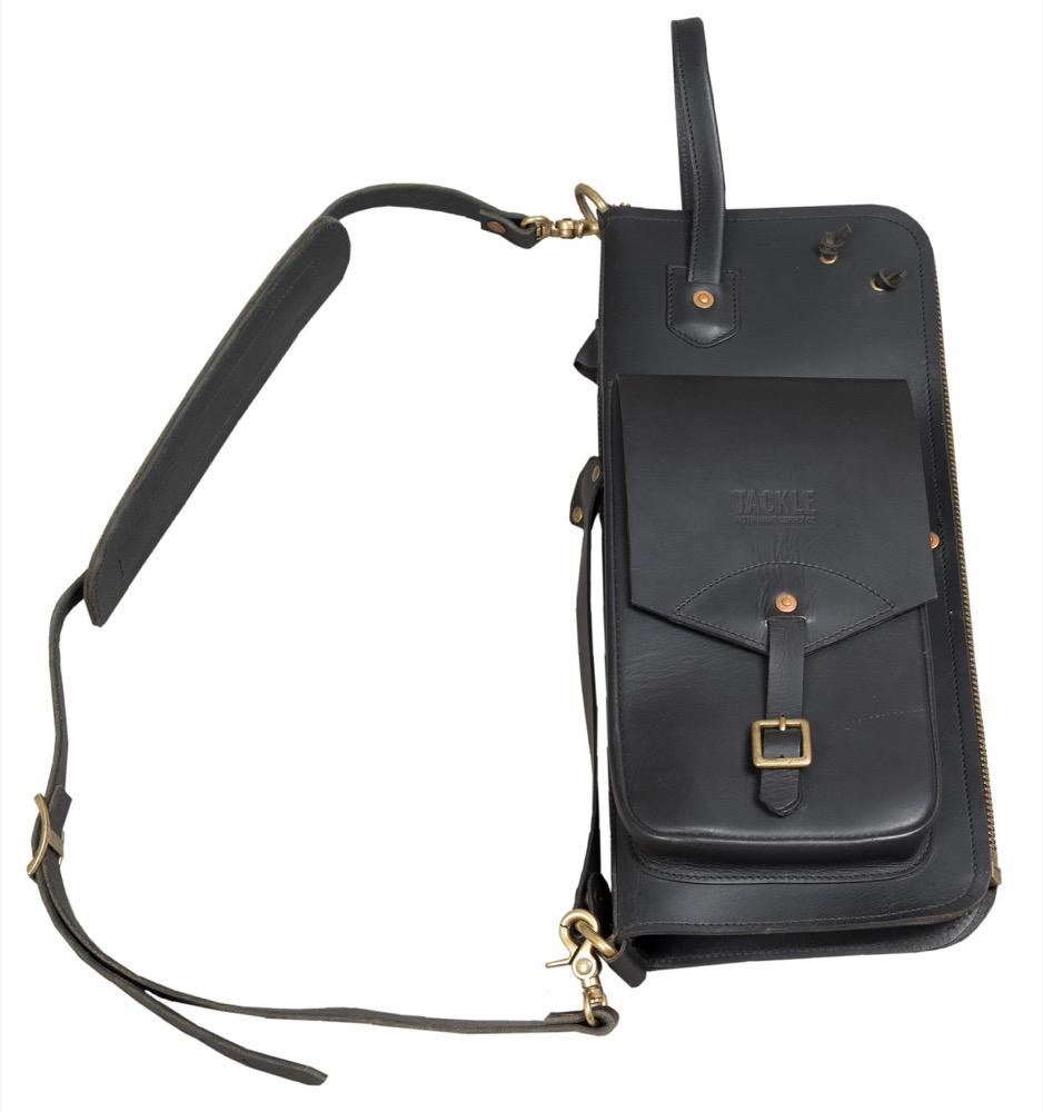 Tackle Instrument Leather Stick Bag Black Ebay