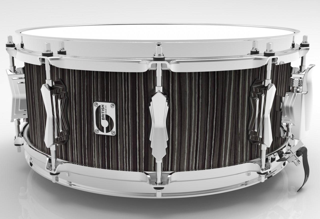 british drum company legend series snare drum 14 6 5 carnaby slate 882030238802 ebay. Black Bedroom Furniture Sets. Home Design Ideas