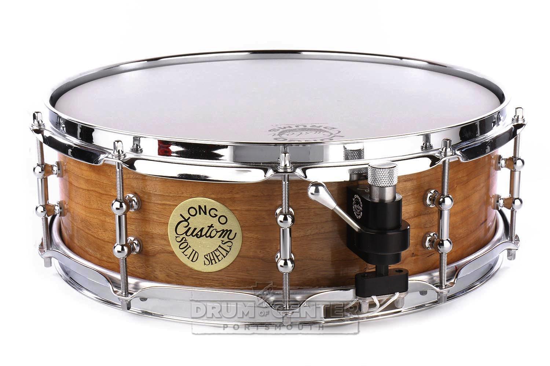 longo solid ply cherry snare drum 14x4 5 ebay. Black Bedroom Furniture Sets. Home Design Ideas