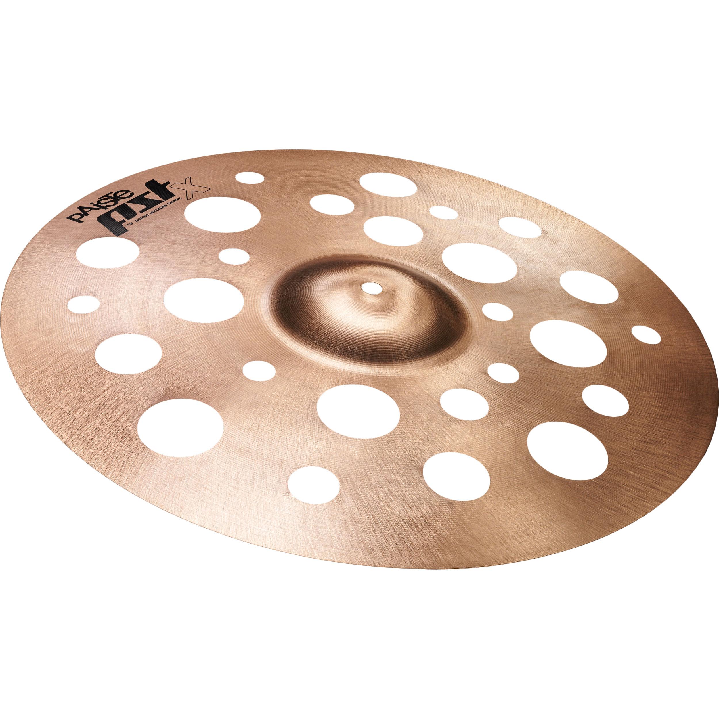 """Video Demo Paiste PSTX Swiss Flanger Crash Cymbal 14/"""""""