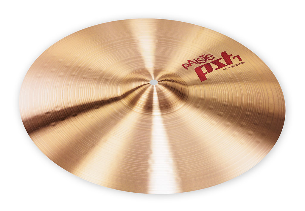 paiste pst 7 thin crash cymbal 14 cy0001701214 697643111516 ebay. Black Bedroom Furniture Sets. Home Design Ideas