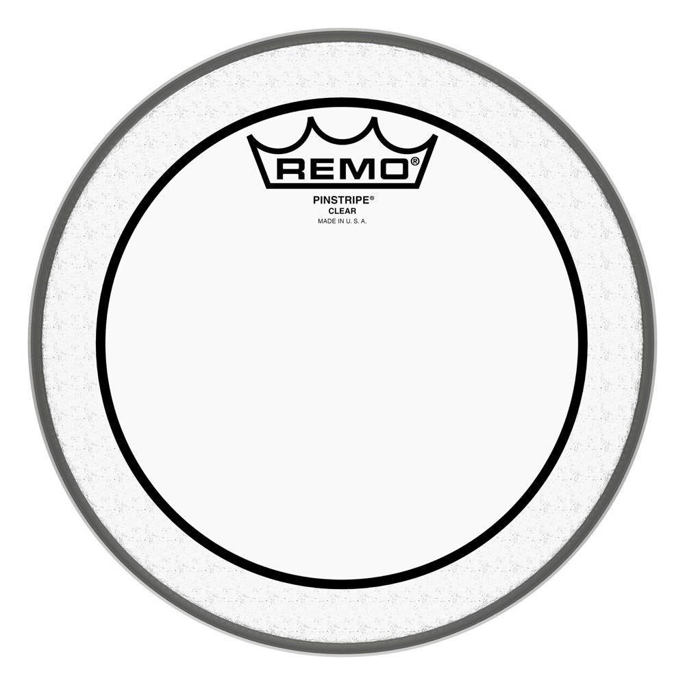 remo snare drum tom heads pinstripe clear 8 diameter ebay. Black Bedroom Furniture Sets. Home Design Ideas