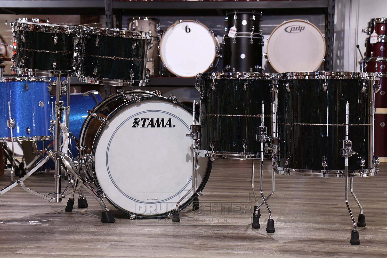 Tama Star Bubinga 5pc Drum Set Dark Green Cordia Ebay Piece Diagram My Before I 22x14 10x8 12x9 14x14 16x16 Drums Only Hardware Cymbals Sold Separately
