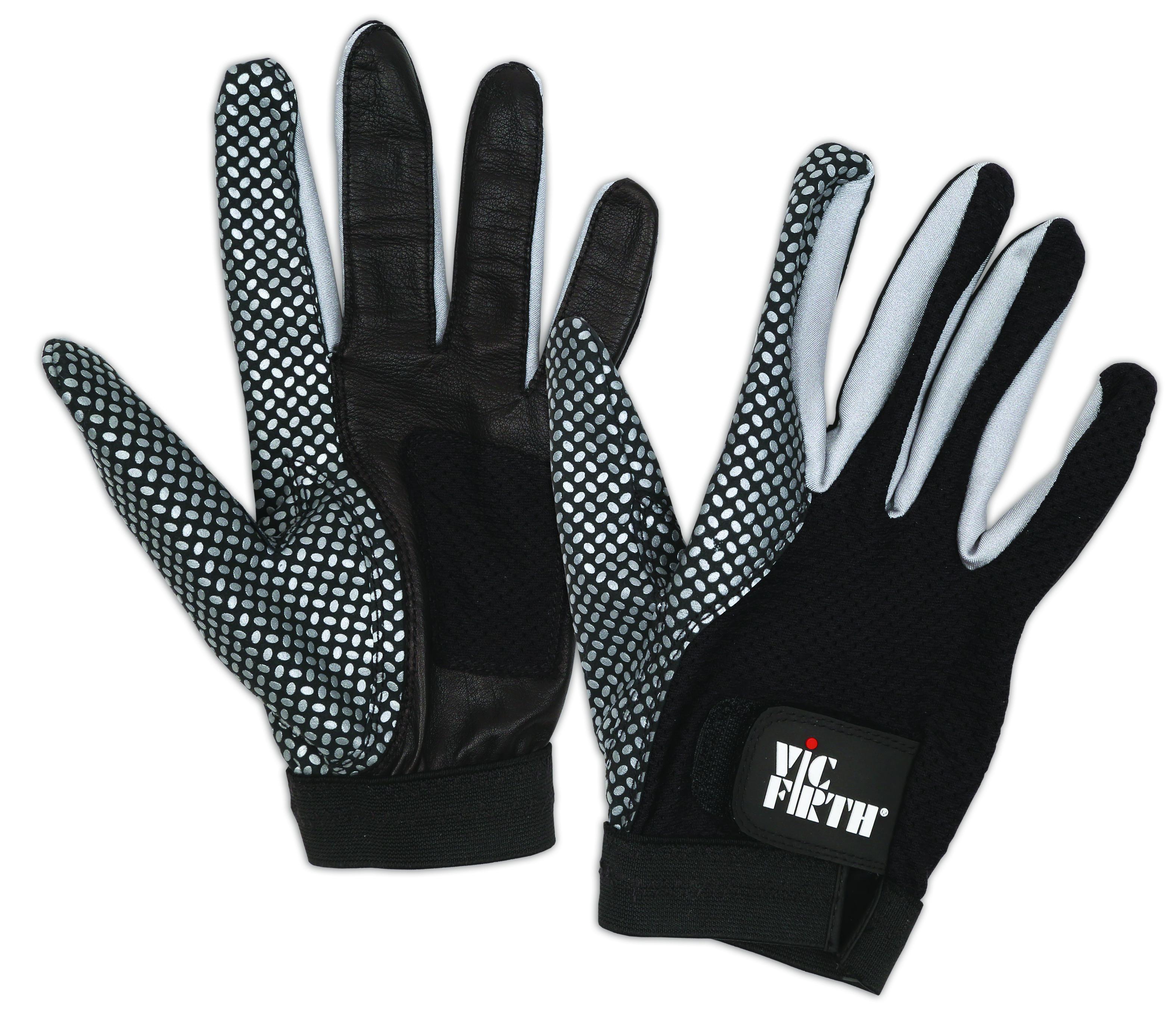 Ventilated Palm Small Vic Firth Drumming Glove Enhanced Grip VICGLVS