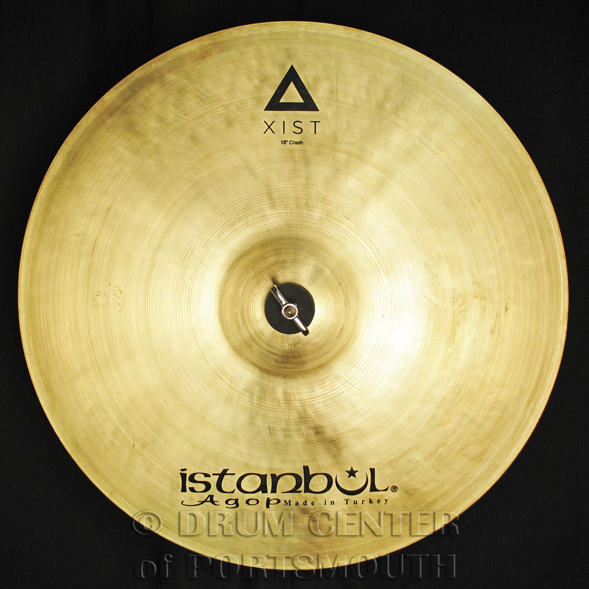 "Istanbul Agop Xist Natural Crash Cymbal 18"" - Video Demo"