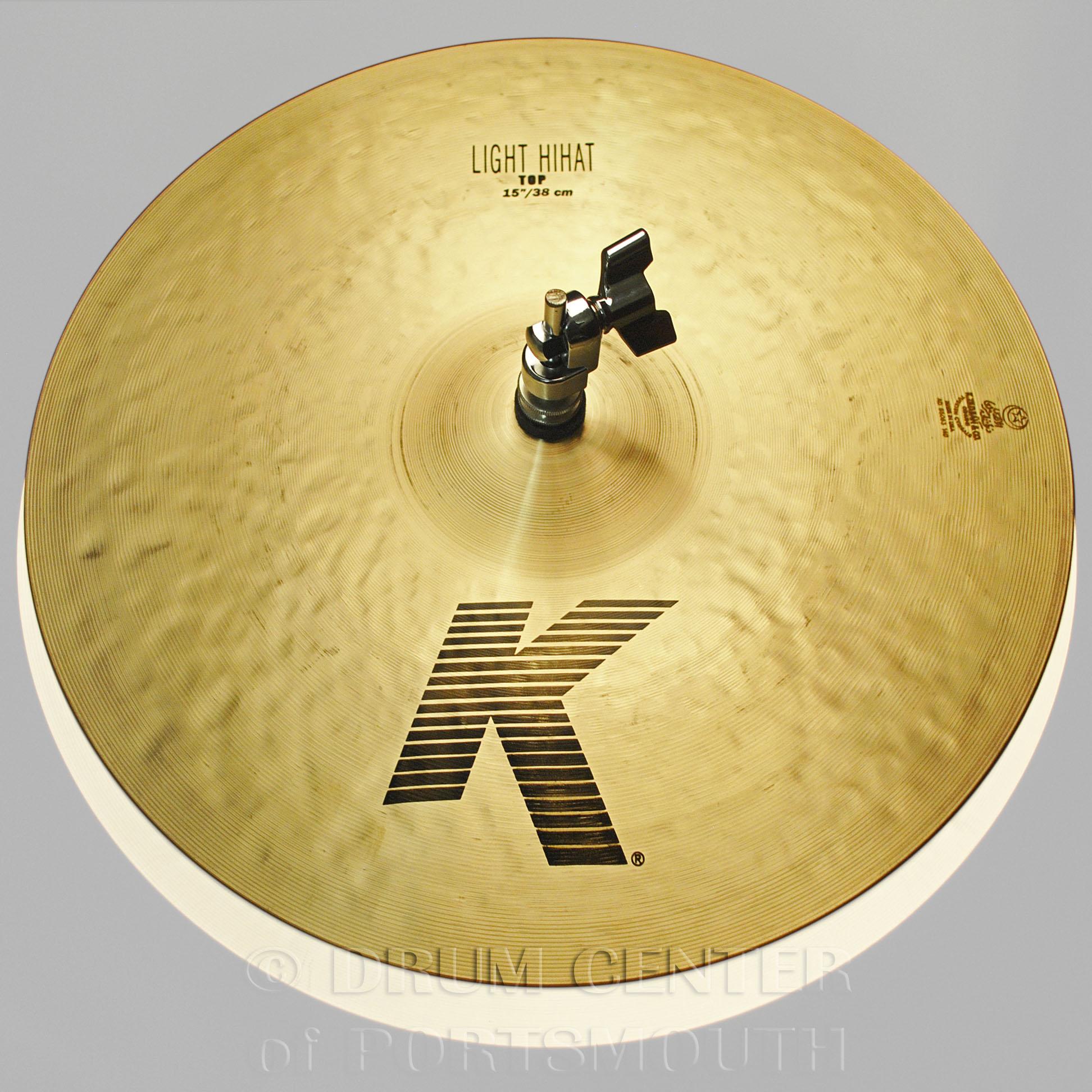 zildjian k light hi hat top cymbal 15 k0924 ebay. Black Bedroom Furniture Sets. Home Design Ideas